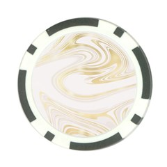 Luxury Gold Marble Poker Chip Card Guard by tarastyle