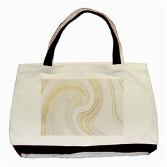 Luxury Gold Marble Basic Tote Bag (two Sides)