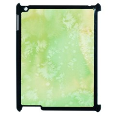 Pastel Salty Watercolor Texture Apple Ipad 2 Case (black) by tarastyle