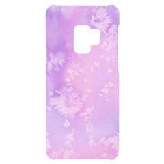 Pastel Salty Watercolor Texture Samsung S9 Black Uv Print Case by tarastyle