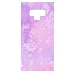 Pastel Salty Watercolor Texture Samsung Note 9 Black Uv Print Case  by tarastyle