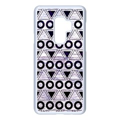 Fancy Tribal Pattern Samsung Galaxy S9 Plus Seamless Case(white) by tarastyle