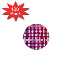 Fancy Tribal Pattern 1  Mini Buttons (100 Pack)  by tarastyle