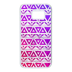 Fancy Tribal Pattern Samsung Galaxy S7 White Seamless Case by tarastyle