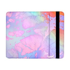 Iridescent Marble Samsung Galaxy Tab Pro 8 4  Flip Case by tarastyle