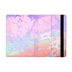 Iridescent Marble Apple Ipad Mini Flip Case by tarastyle