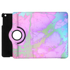 Iridescent Marble Apple Ipad Mini Flip 360 Case by tarastyle