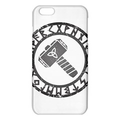 Thor Hammer With Runes Valhalla Tristella Viking Norse Mythology Mjolnir  Iphone 6 Plus/6s Plus Tpu Case by snek