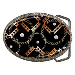 Luxury Chains And Belts Pattern Belt Buckles by tarastyle