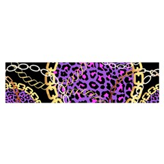 Luxury Chains And Belts Pattern Satin Scarf (oblong)