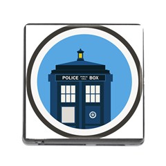 Doctor Who Tardis Memory Card Reader (square 5 Slot)