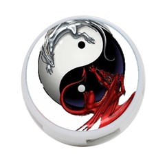 Yin And Yang Chinese Dragon 4-port Usb Hub (one Side)