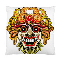 Bali Barong Mask Euclidean Vector Chiefs Face Standard Cushion Case (two Sides)