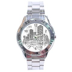 Division A Collection Of Science Fiction Fairytale Stainless Steel Analogue Watch