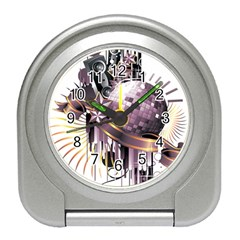 Nightclub Disco Ball Dj Dance Speaker Travel Alarm Clock
