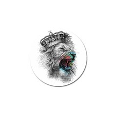 Lion King Head Golf Ball Marker (10 Pack) by Sudhe