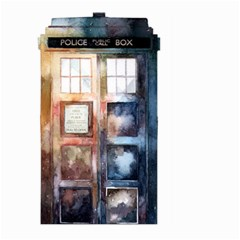 Tardis Doctor Who Transparent Large Garden Flag (two Sides)