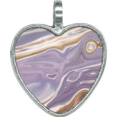 Agate Marble Heart Necklace by tarastyle