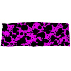Black And Pink Leopard Style Paint Splash Funny Pattern Body Pillow Case (dakimakura) by yoursparklingshop