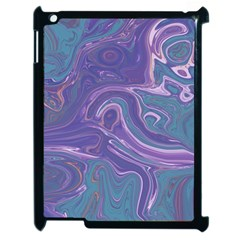Agate Marble Apple Ipad 2 Case (black) by tarastyle
