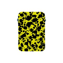 Black And Yellow Leopard Style Paint Splash Funny Pattern  Apple Ipad Mini Protective Soft Cases by yoursparklingshop