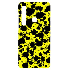 Black And Yellow Leopard Style Paint Splash Funny Pattern  Samsung Case Others by yoursparklingshop