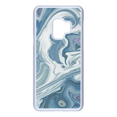 Agate Marble Samsung Galaxy S9 Seamless Case(white)