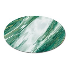 Agate Marble Oval Magnet by tarastyle