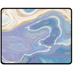 Agate Marble Fleece Blanket (medium)  by tarastyle