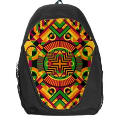 Modern Geometric Pattern Backpack Bag by tarastyle