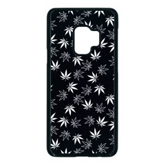 Weed Pattern Samsung Galaxy S9 Seamless Case(black)