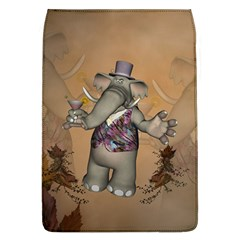 Funny Cartoon Elephant Removable Flap Cover (l) by FantasyWorld7