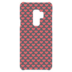 Love Hearth Texture Samsung S9 Plus Black Uv Print Case