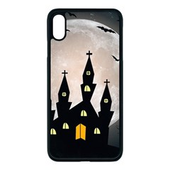 Halloween Illustration Decoration Iphone Xs Max Seamless Case (black) by Pakrebo