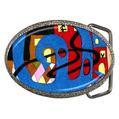 Creativeness Art Illustration Belt Buckles by Pakrebo