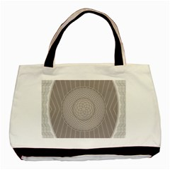 Certificate Rosette Diploma Design Basic Tote Bag (two Sides)