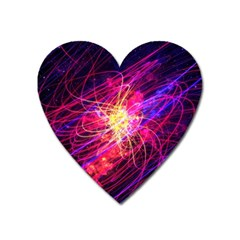 Abstract Cosmos Space Particle Heart Magnet by Pakrebo
