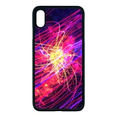Abstract Cosmos Space Particle Iphone Xs Max Seamless Case (black)