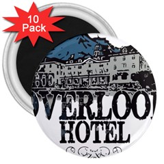The Overlook Hotel Merch 3  Magnets (10 Pack)  by milliahood