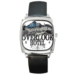 The Overlook Hotel Merch Square Metal Watch by milliahood
