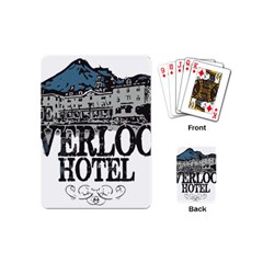 The Overlook Hotel Merch Playing Cards (mini) by milliahood