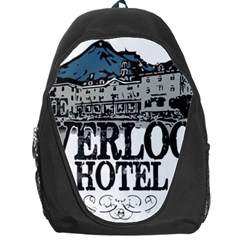 The Overlook Hotel Merch Backpack Bag by milliahood