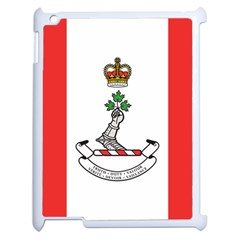 Flag Of Royal Military College Of Canada Apple Ipad 2 Case (white) by abbeyz71