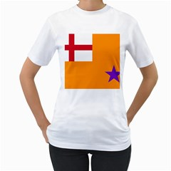 Flag Of The Orange Order Women s T Shirt (white)  by abbeyz71