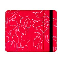 Katsushika Hokusai, Egrets From Quick Lessons In Simplified Drawing Samsung Galaxy Tab Pro 8 4  Flip Case by Valentinaart