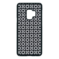Cute Xoxo Pattern Samsung Galaxy S9 Seamless Case(black) by tarastyle