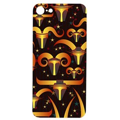 Stylised Horns Black Pattern Iphone 7/8 Soft Bumper Uv Case