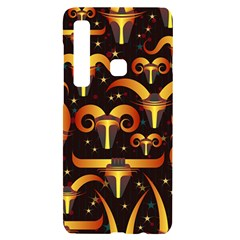 Stylised Horns Black Pattern Samsung Case Others by HermanTelo