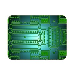 Board Conductors Circuits Double Sided Flano Blanket (mini)  by HermanTelo