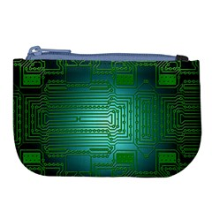 Board Conductors Circuits Large Coin Purse by HermanTelo
